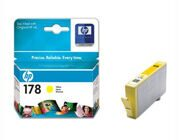 Картридж HP CB320HE #178, yellow