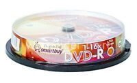 Диск DVD-R SMARTBUY SP-50 4.7GB 16x bulk