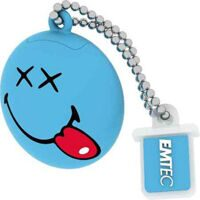 Флеш накопитель EMTEC SW103 SMILEY HAPPY DAYS 8GB, blue