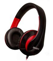 Наушники SVEN AP-940MV, black/red